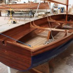 Detalle de un International 12′ Dinghy